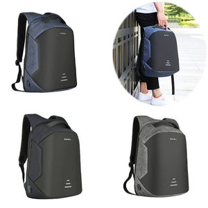 Waterproof Charging Backpack Business Satchel Bag with USB Charging Port Tech Accessories shopgadgetmonkey
