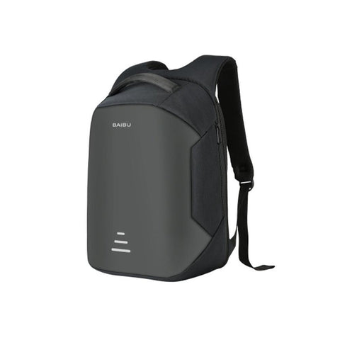 Image of Waterproof Charging Backpack Business Satchel Bag with USB Charging Port Tech Accessories shopgadgetmonkey Black
