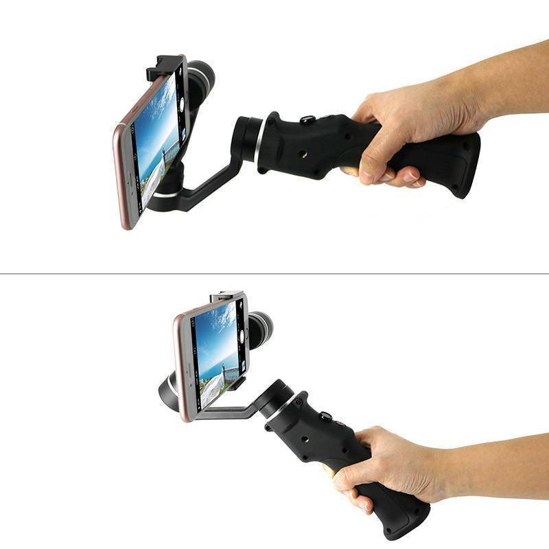 Smartphone Handheld Gimbal 3-Axis Stabilizer for iPhone and Android Tech Accessories Gadget Monkey