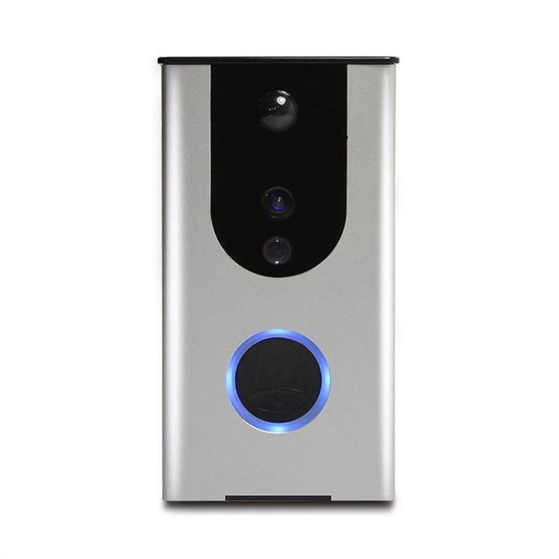 WiFi Wireless Doorbell Camera Remote Video Door Intercom IR Night Vision Security Bell Home & Garden Gadget Monkey Default Title