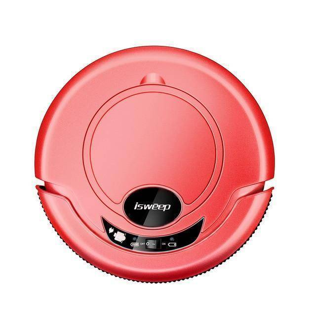 ISWEEP S320 Smart Robot Vacuum Cleaner - Wet and Dry Home & Garden shopgadgetmonkey Red US