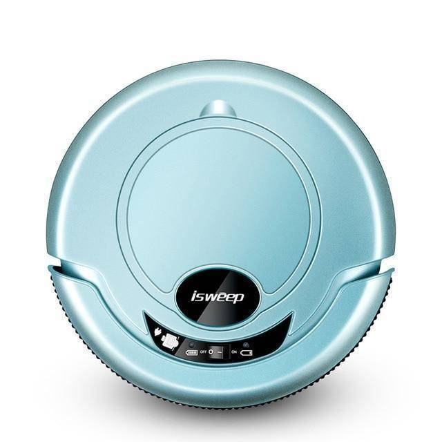 ISWEEP S320 Smart Robot Vacuum Cleaner - Wet and Dry Home & Garden shopgadgetmonkey Blue US