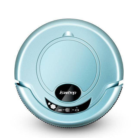 Image of ISWEEP S320 Smart Robot Vacuum Cleaner - Wet and Dry Home & Garden shopgadgetmonkey Blue US