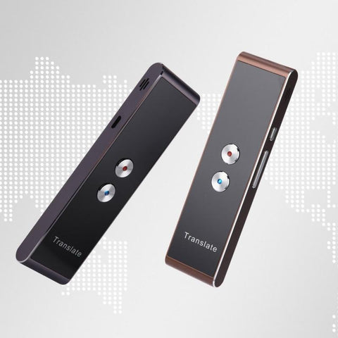 Image of Portable Smart Voice Speech Translator -- Real Time 30 Multi-Language Translation Tech Accessories Gadget Monkey