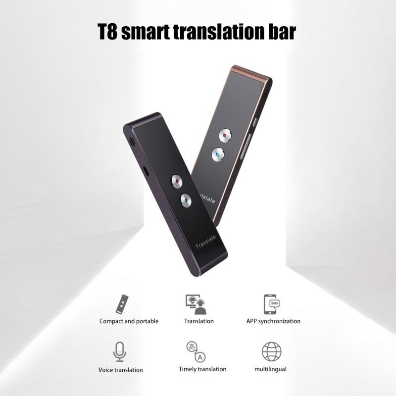 Portable Smart Voice Speech Translator -- Real Time 30 Multi-Language Translation Tech Accessories Gadget Monkey