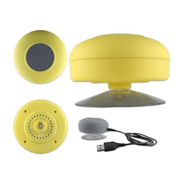 Bluetooth Shower Speaker - Assorted Colors Tech Accessories Gadget Monkey Yellow