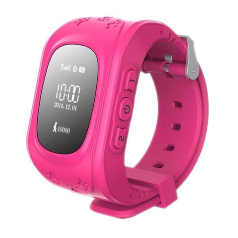 Image of Kids GPS Wrist Tracker - Smartwatch Tech Accessories shopgadgetmonkey Pink