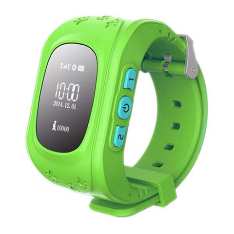 Image of Kids GPS Wrist Tracker - Smartwatch Tech Accessories shopgadgetmonkey Green