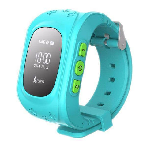 Image of Kids GPS Wrist Tracker - Smartwatch Tech Accessories shopgadgetmonkey Blue