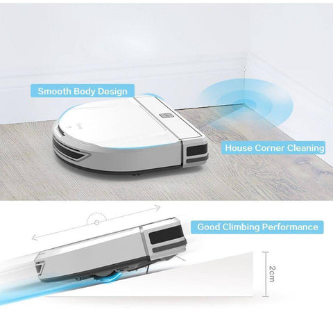 Image of Smart Robot Vacuum Cleaner With Wet/Dry Mopping Home & Garden shopgadgetmonkey