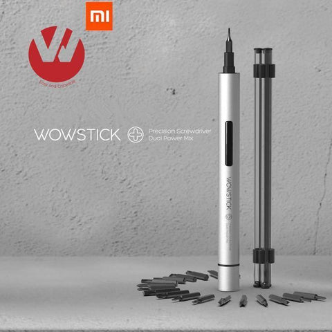 Image of Original Wowstick 1P+ 19 In 1 Electric Screw Driver Cordless Power Tech Accessories Gadget Monkey