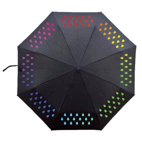 Image of Tri-fold Magical Color Changing Umbrella Tech Accessories Gadget Monkey