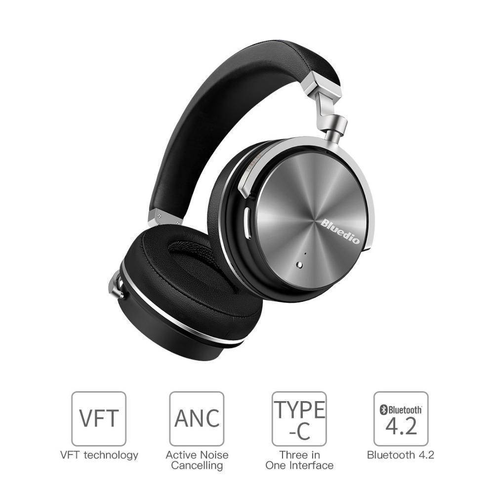 Bluedio Bluetooth Headphones Active Noise Cancelling Wireless With Mic Tech Accessories Gadget Monkey