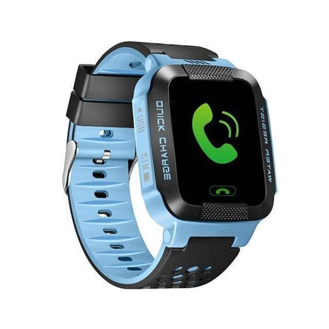 Kids GPS Tracker Smart Watch With Camera Jewelry & Watches Gadget Monkey Blue