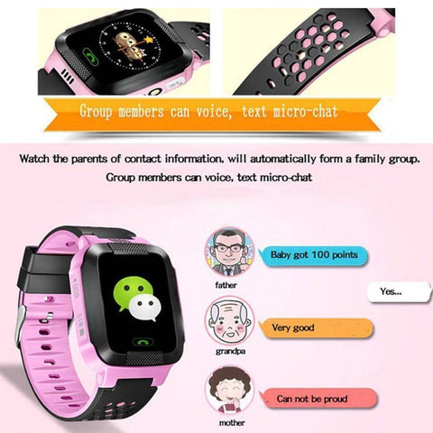 Image of Kids GPS Tracker Smart Watch With Camera Jewelry & Watches Gadget Monkey
