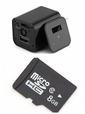 Image of HD 1080P USB Wall Charger Video Camera - US Version Tech Accessories Gadget Monkey