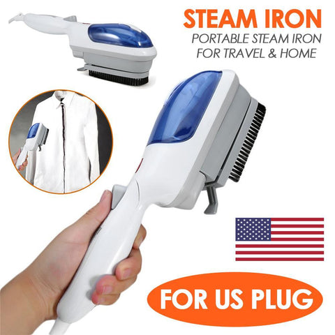 Image of Portable Brush Steam Electric Iron Home & Garden Gadget Monkey