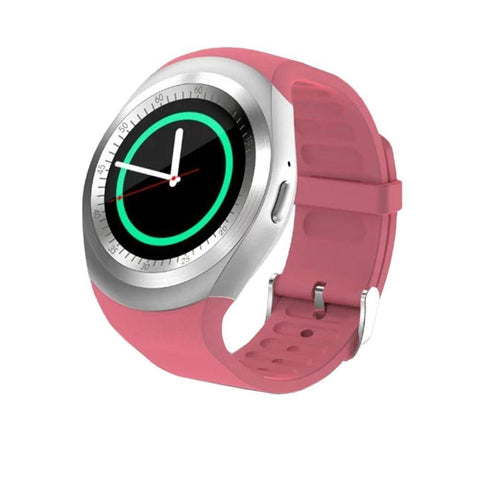 Image of Bluetooth Touch Screen Smart Watch for iOS and Android Jewelry & Watches shopgadgetmonkey Pink