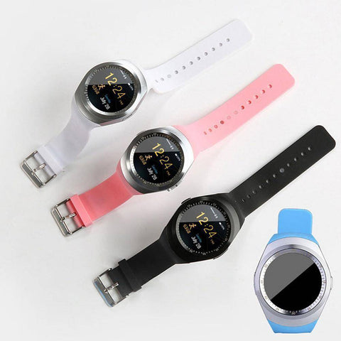 Image of Bluetooth Touch Screen Smart Watch for iOS and Android Jewelry & Watches shopgadgetmonkey