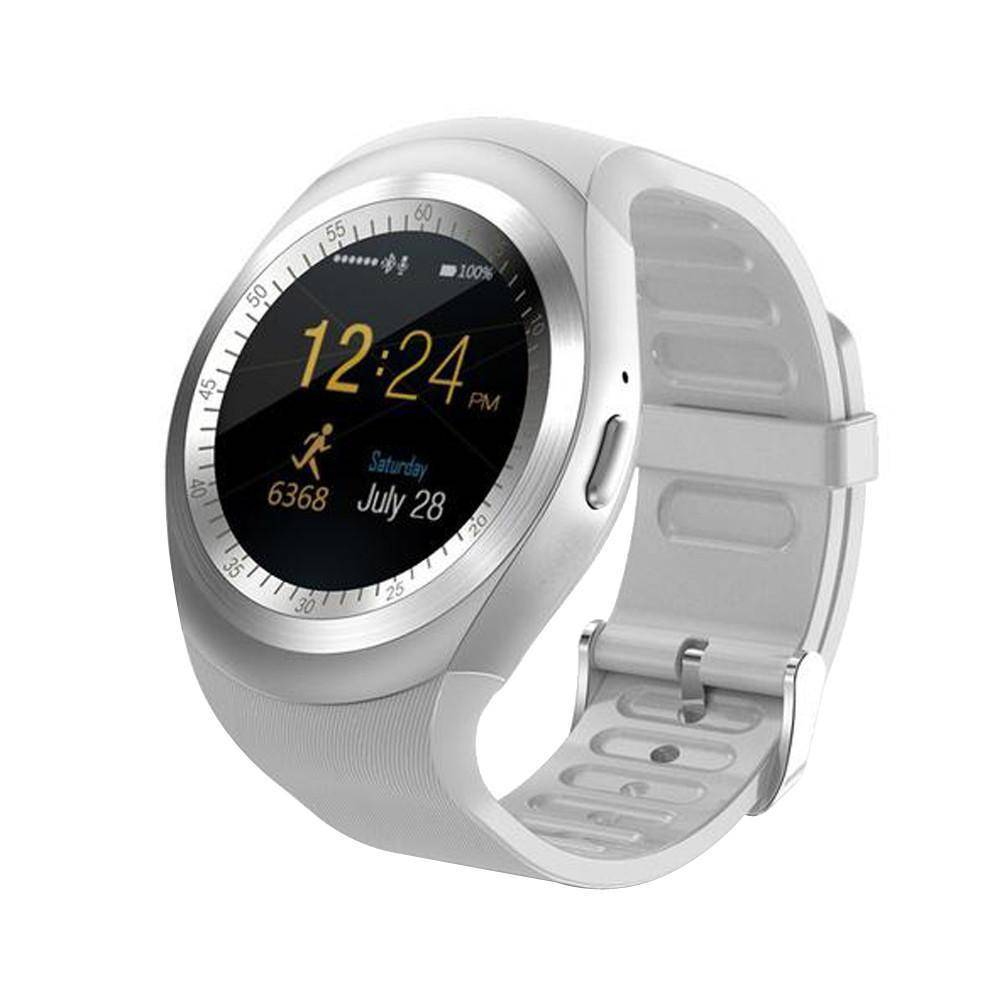 Bluetooth Touch Screen Smart Watch for iOS and Android Jewelry & Watches shopgadgetmonkey White