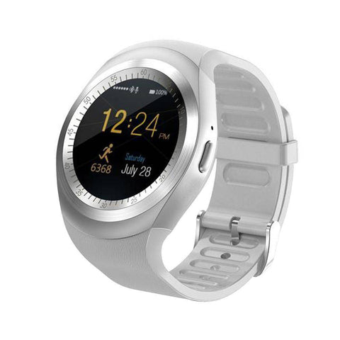 Image of Bluetooth Touch Screen Smart Watch for iOS and Android Jewelry & Watches shopgadgetmonkey White