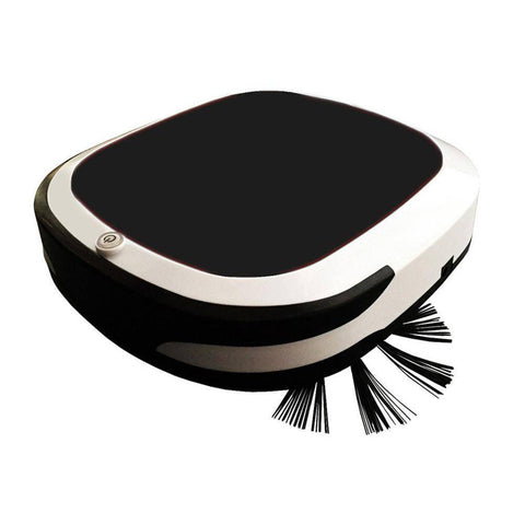 Image of Smart Robot Vacuum Cleaner - Wet and Dry Home & Garden shopgadgetmonkey black