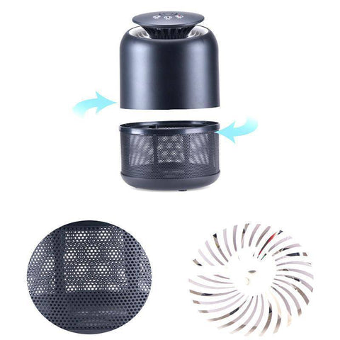 Smart UV LED Mosquito Flying Insect Pest Killer Lamp Home & Garden Gadget Monkey