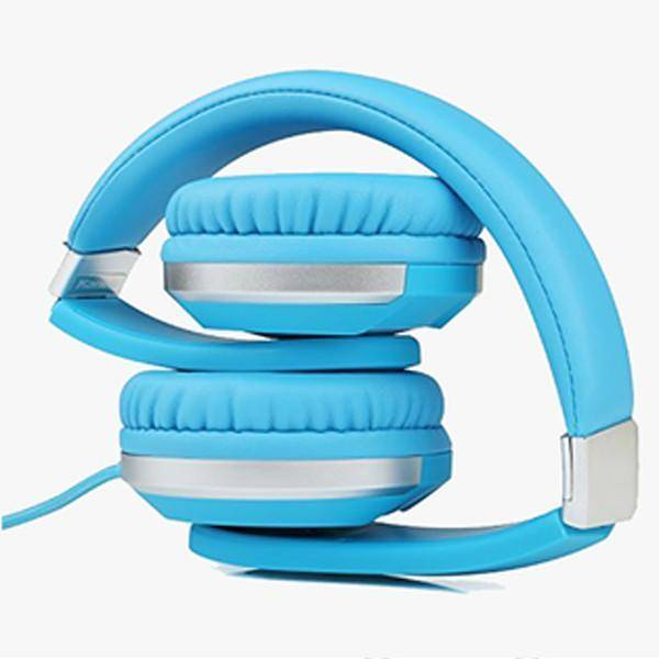 Premium Comfort Foldable Headphone Tech Accessories shopgadgetmonkey Blue