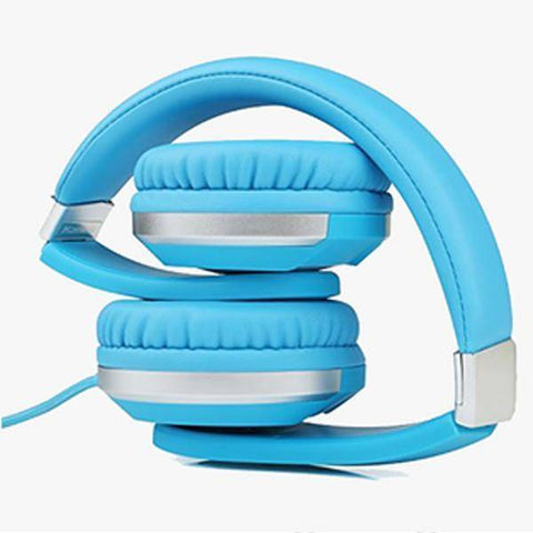 Image of Premium Comfort Foldable Headphone Tech Accessories shopgadgetmonkey Blue