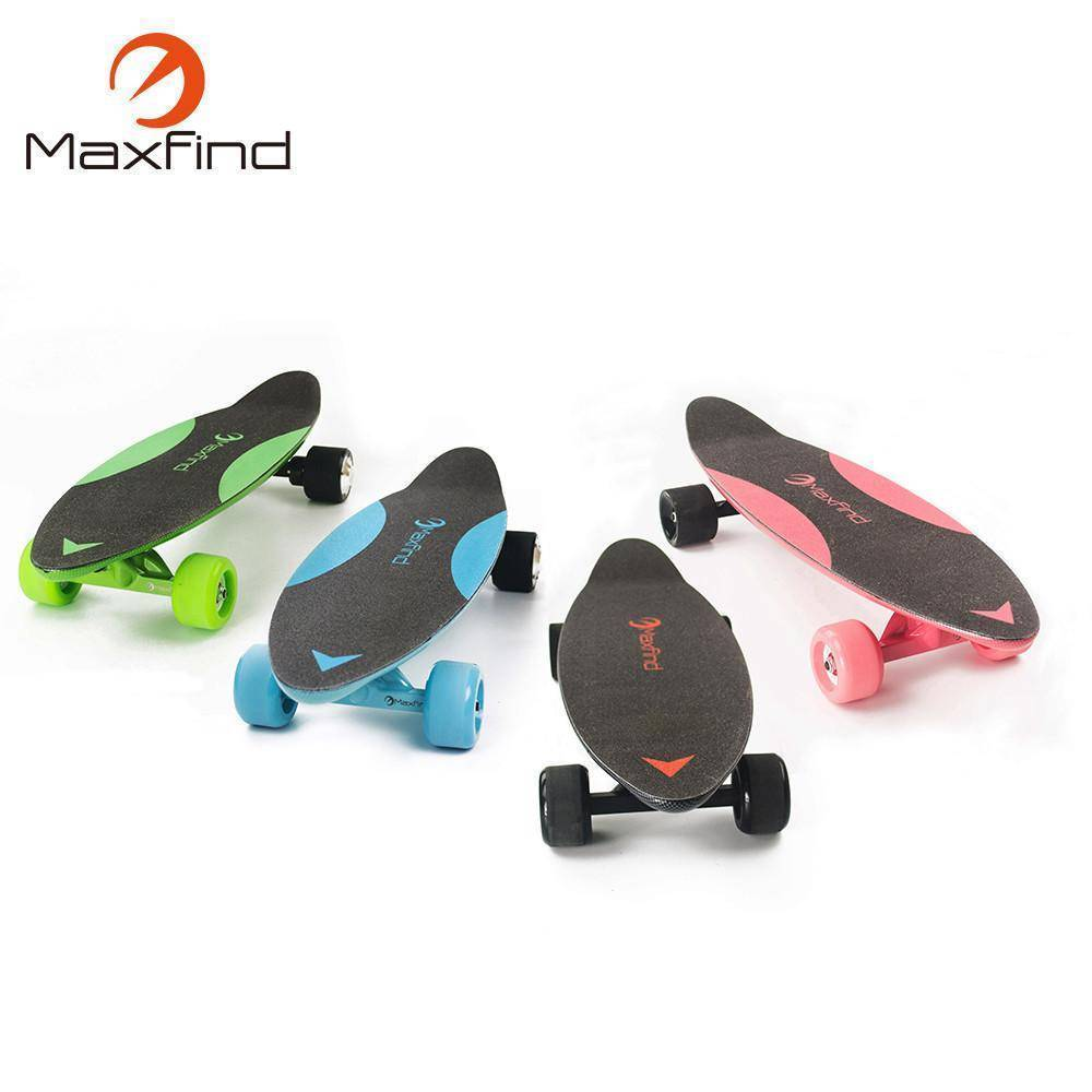 Maxfind Max C Penny Electric Skateboard With Wireless Remote Tech Accessories Gadget Monkey