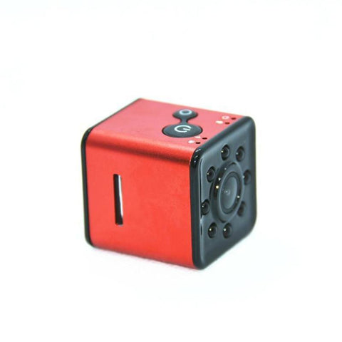 Image of Mini WiFi HD 1080P Car DVR Camera Night Vision Sport Camera Tech Accessories Gadget Monkey red