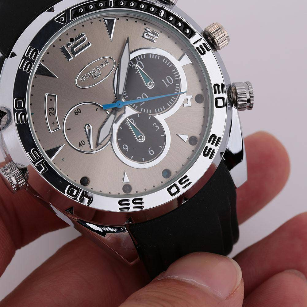 Wrist Watch With Hidden HD Video Camera 1080P Waterproof 8GB IR Night Vision Tech Accessories shopgadgetmonkey