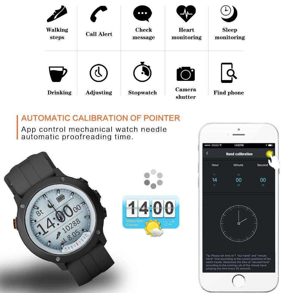 Men's Smartwatch for Android - Waterproof Jewelry & Watches Gadget Monkey