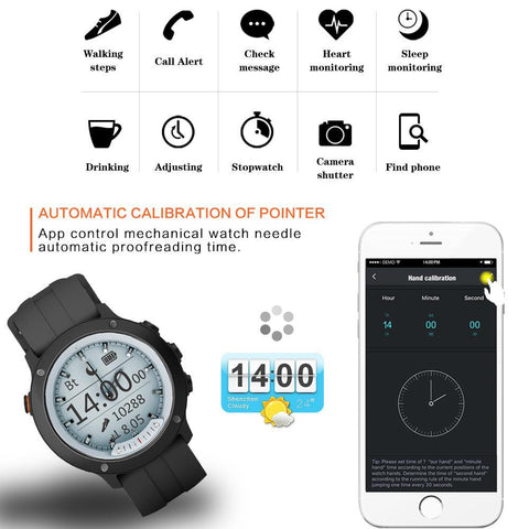 Image of Men's Smartwatch for Android - Waterproof Jewelry & Watches Gadget Monkey