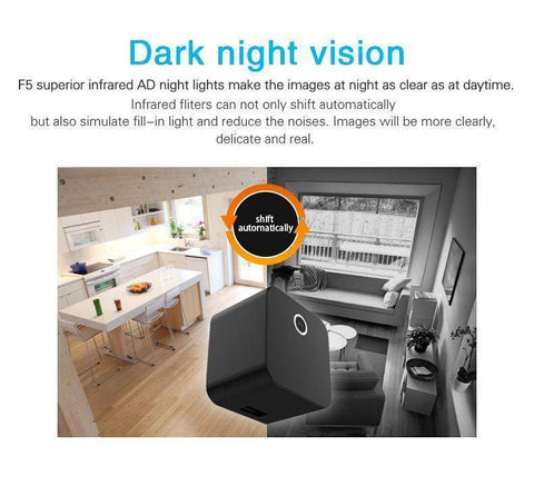 Image of HD Hidden Camera Video With Night Vision and Motion Detection Tech Accessories shopgadgetmonkey