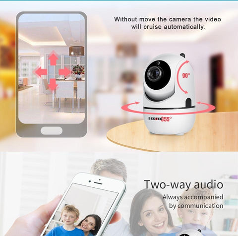 1080P HD Wireless IP Security Camera Home & Garden Gadget Monkey