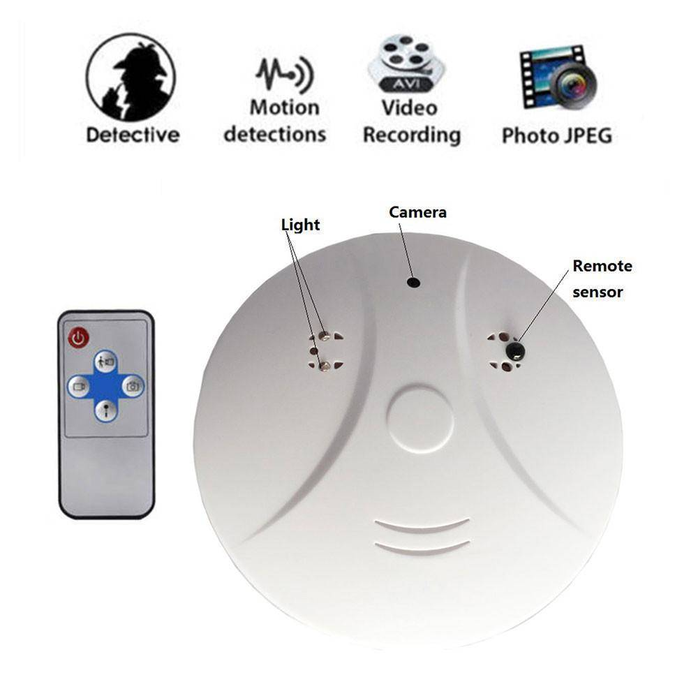 Video Camera Smoke Detector Home & Garden Gadget Monkey