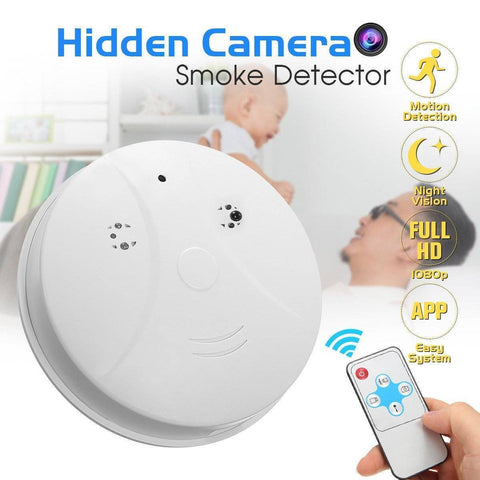 Image of Video Camera Smoke Detector Home & Garden Gadget Monkey