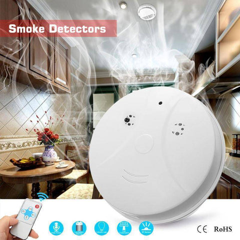 Image of Video Camera Smoke Detector Home & Garden Gadget Monkey Default Title