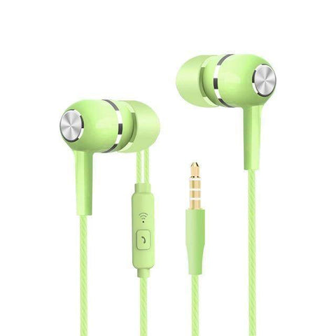 Image of Sport Earbuds with Microphone Tech Accessories shopgadgetmonkey Green