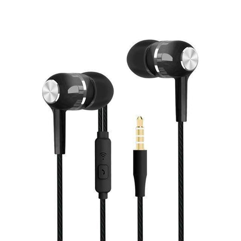 Image of Sport Earbuds with Microphone Tech Accessories shopgadgetmonkey Black