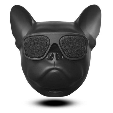 Image of Bull Dog Portable Wireless Bluetooth Speaker Mini Stereo MP3 Bulldog Tech Accessories Gadget Monkey Black None