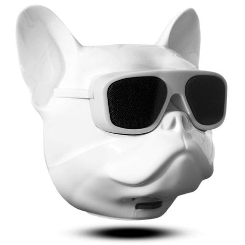 Image of Bull Dog Portable Wireless Bluetooth Speaker Mini Stereo MP3 Bulldog Tech Accessories Gadget Monkey white None