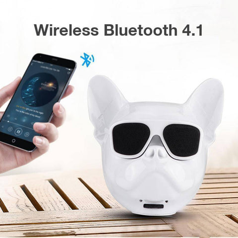 Image of Bull Dog Portable Wireless Bluetooth Speaker Mini Stereo MP3 Bulldog Tech Accessories Gadget Monkey