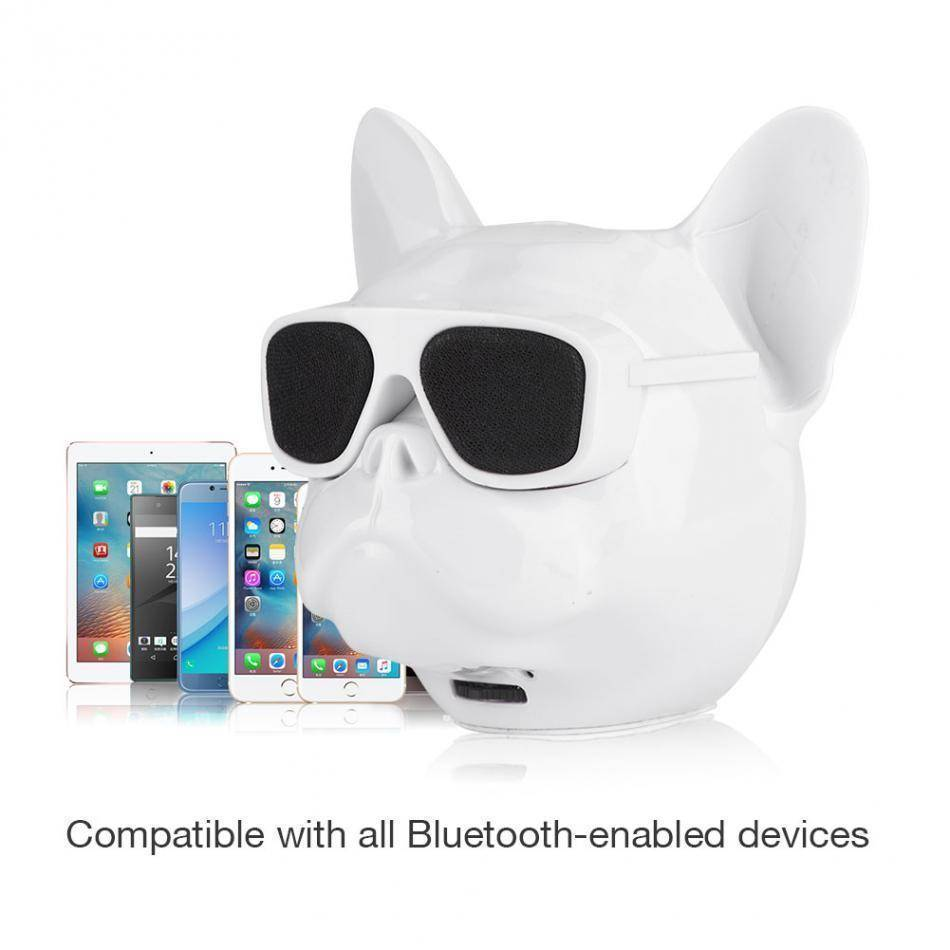 Bull Dog Portable Wireless Bluetooth Speaker Mini Stereo MP3 Bulldog Tech Accessories Gadget Monkey