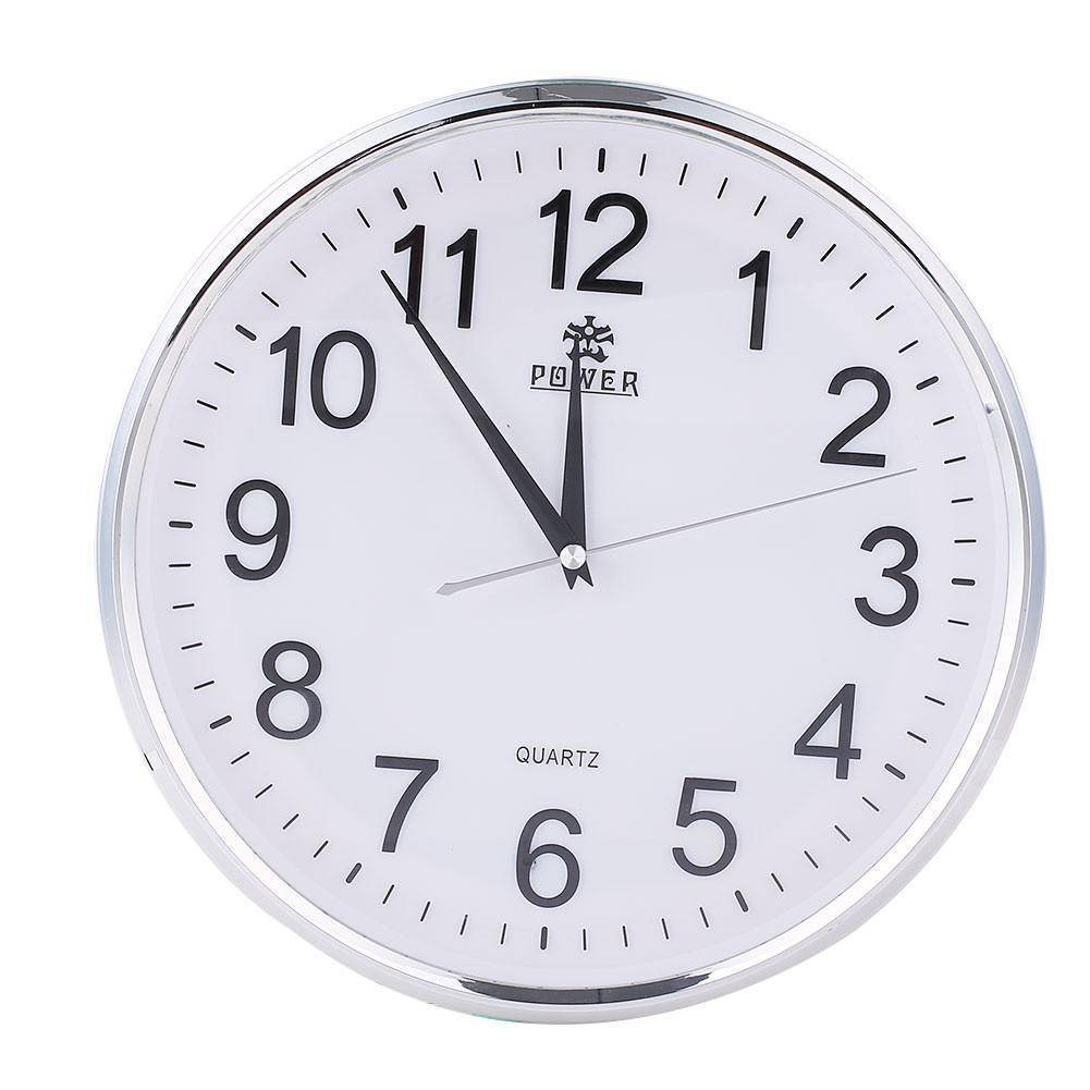 Hidden Camera Wall Clock with Motion Detection (White) Home & Garden shopgadgetmonkey Default Title
