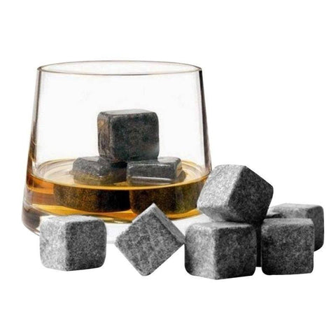 Whisky Ice Stones With Velvet Pouch Home & Garden Gadget Monkey Default Title