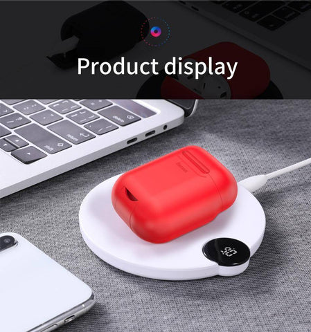 Qi Wireless Charging Protective Case For Airpods Tech Accessories Gadget Monkey