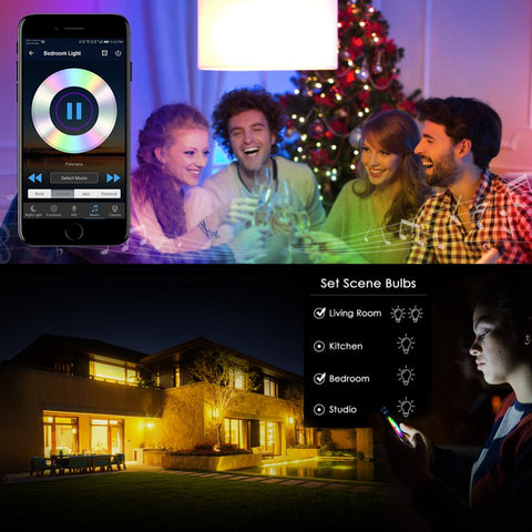 Image of Magic Led Smart Light Bulb - Smart Home Home & Garden Gadget Monkey