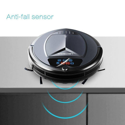 Image of Wet and Dry Robot Vacuum Cleaner Home & Garden shopgadgetmonkey